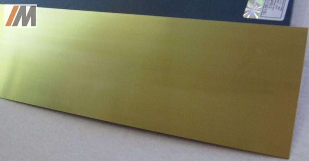 Messing Blech 0,3mm 300x200mm CuZn37 MS63 Messingblech