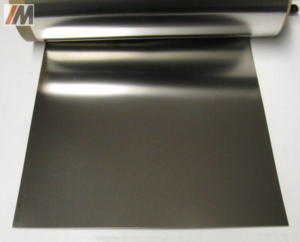 3 Tafeln Federstahl CrNi-Stahl, 1.4310, 1000x305x ..mm