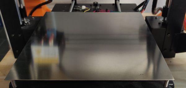 Federstahlplatte Cr - rostfrei, stark magnetisch